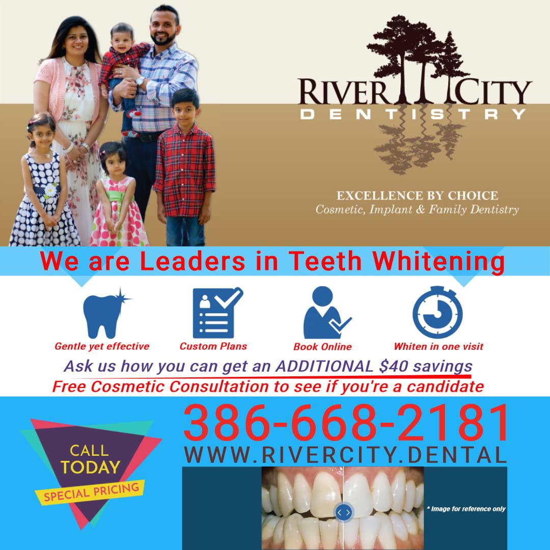 River City Dentistry Debary FL 386-668-2181