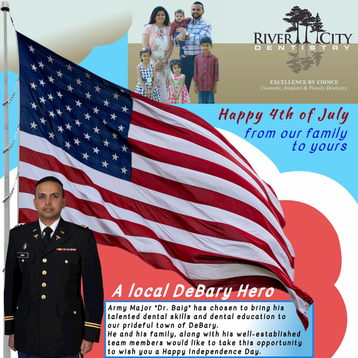 River City Dentistry 4th of July Celebration
