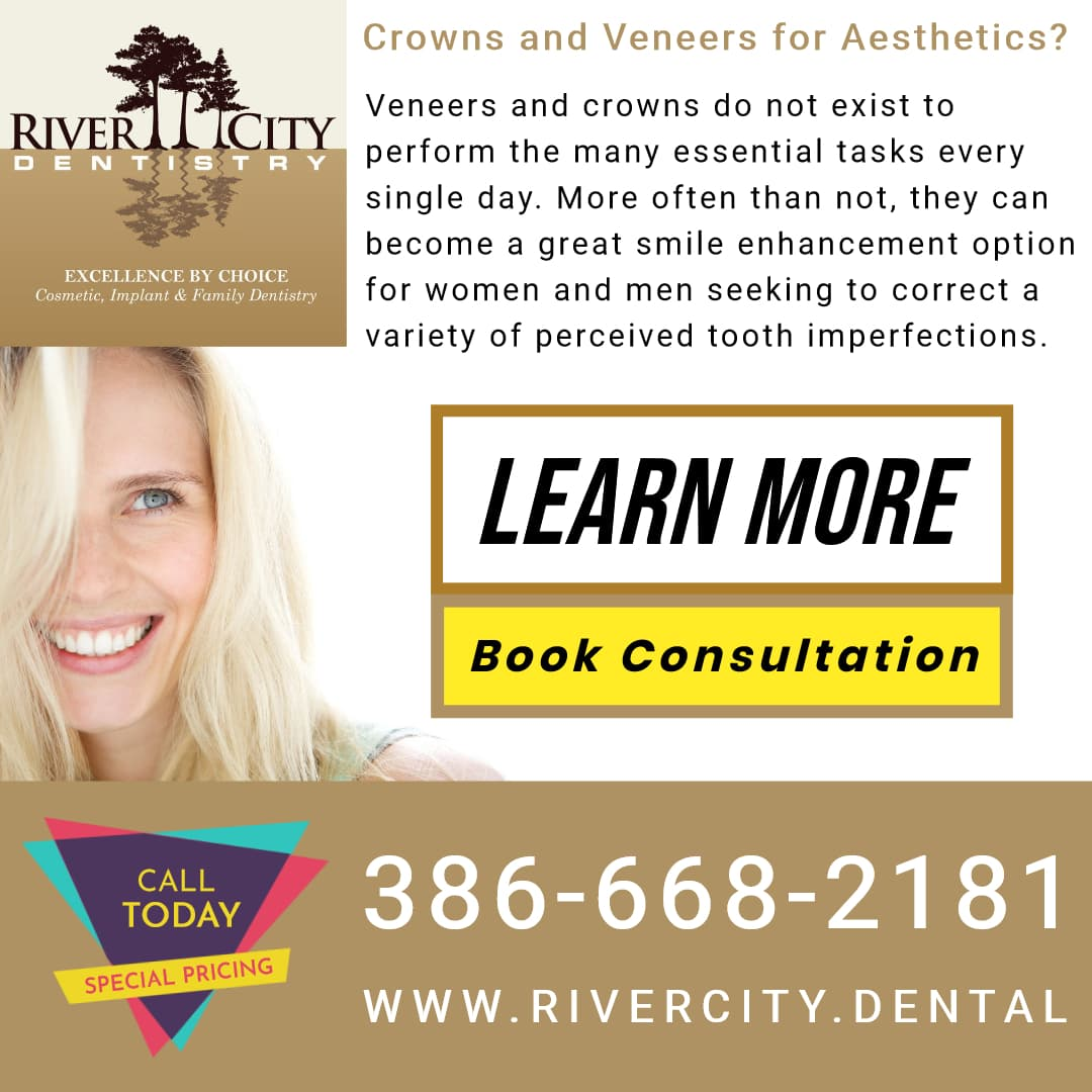 Veneers and crowns do not exist to perform the many essential tasks every single day. More often than not, they can become a great smile enhancement option for women and men seeking to correct a variety of perceived tooth imperfections.