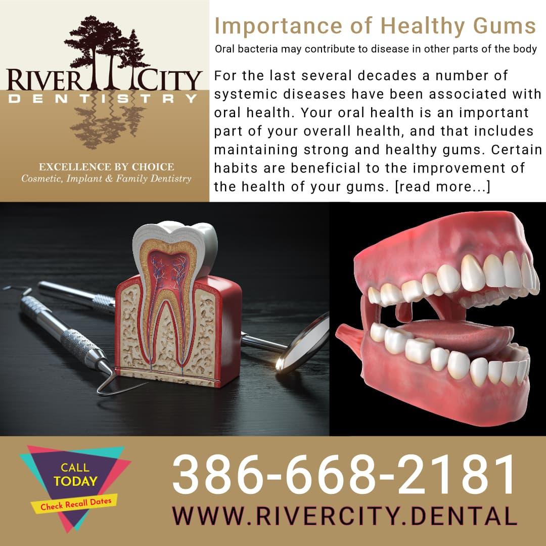 River City Dentistry DeBary FL healthy gums