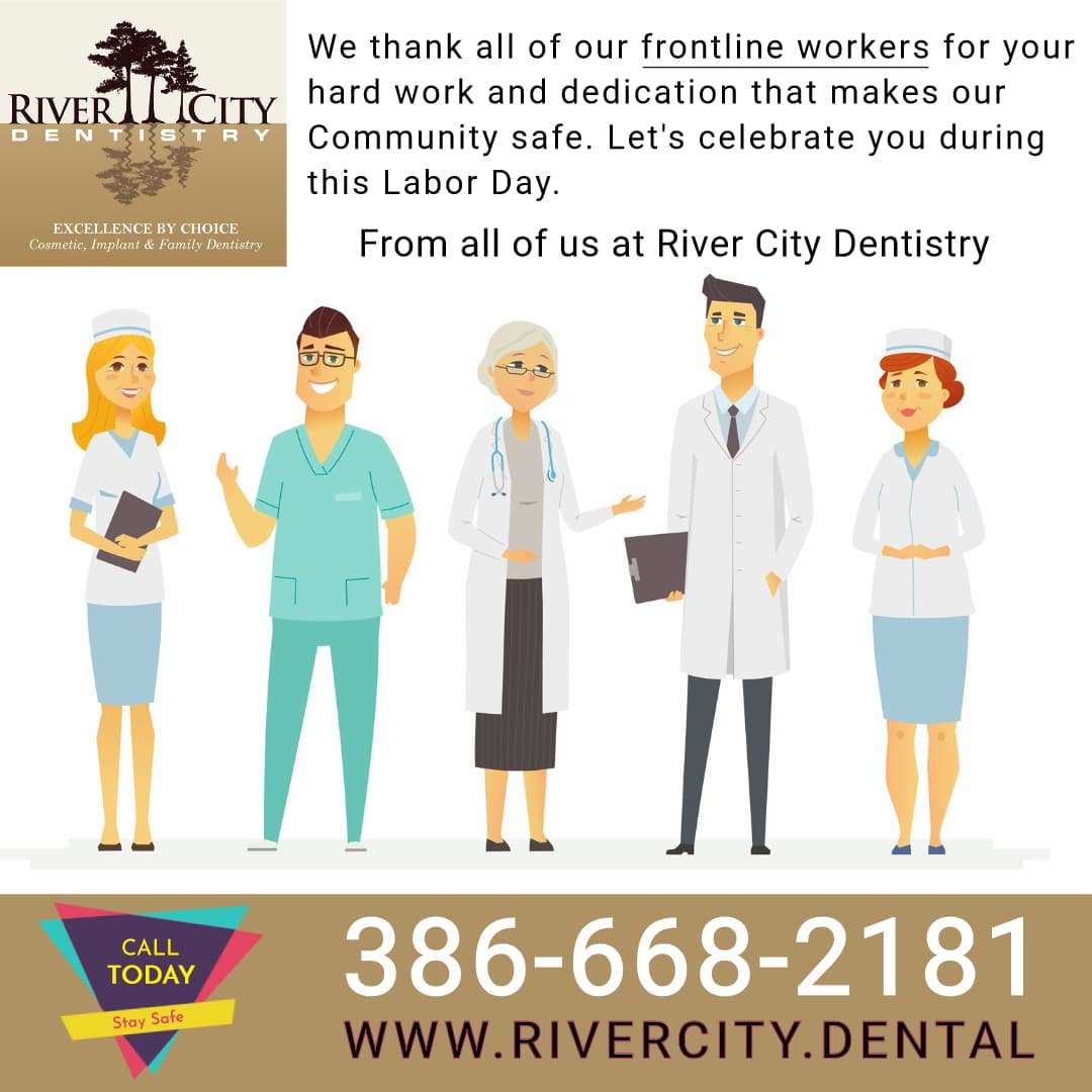River City Dentistry Celebrates Frontline Workers for Labor Day