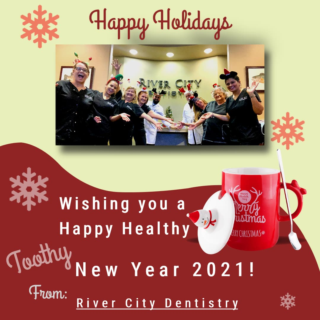 River City Dentistry Happy Holidays